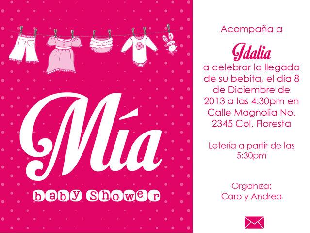 Baby Shower Nina 6 Fiestamez Deco 044 811 225 0153